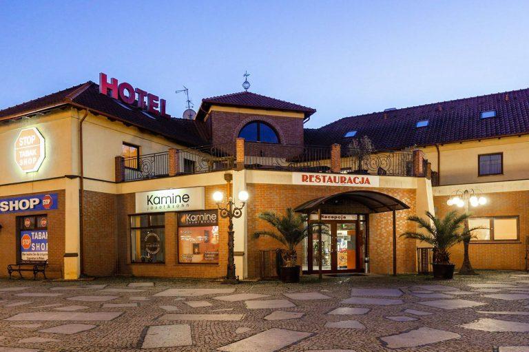 Hotel Bastion w Kostrzynie