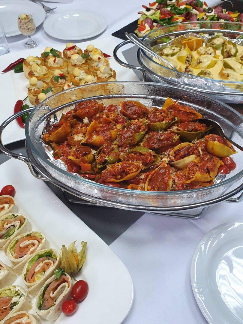 usługi cateringowe w hotelu bastion