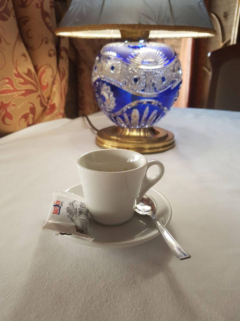świeżo mielona kawa