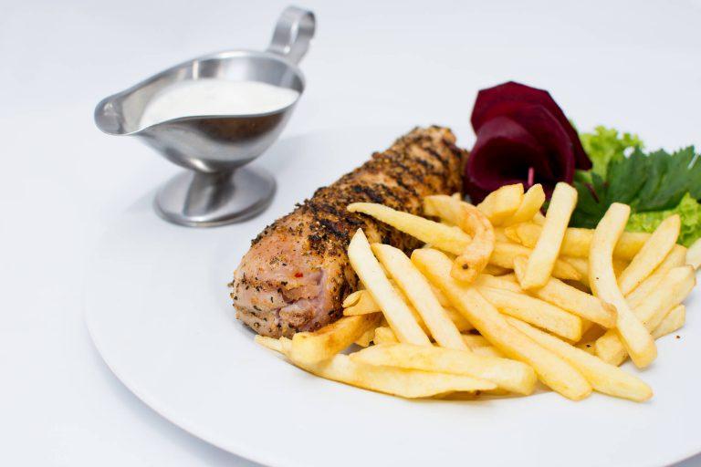 menu restauracji bastion