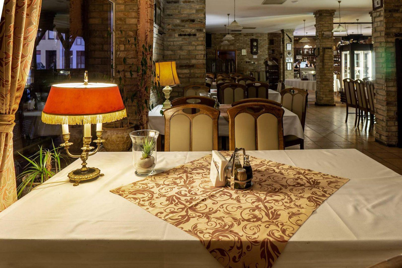 Restauracja Hotelu Bastion w Kostrzynie