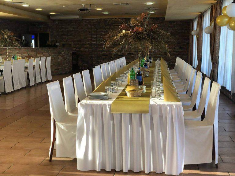 klimatyzowane sale weselne w hotelu bastion