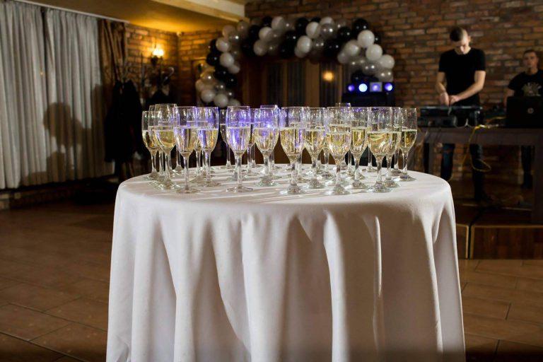 szampan weselny