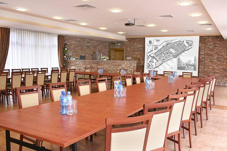 sala konferencyjna w hotelu bastion
